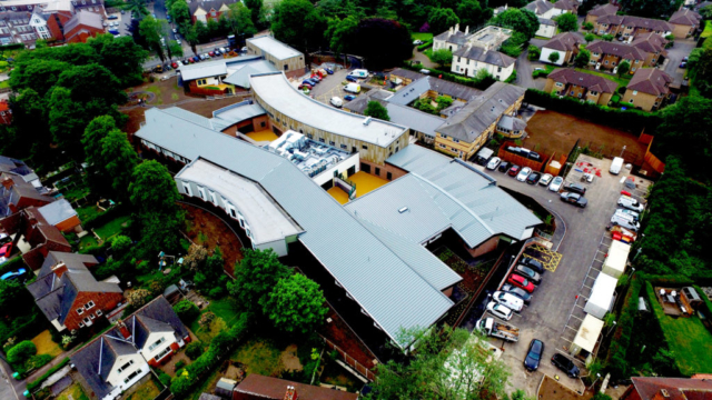 Multi-discipline roof refurbishment, including pitched, cladding, flat and industrial.